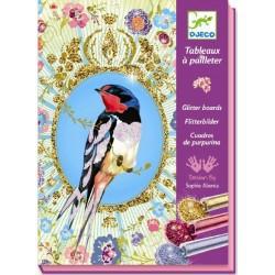 Arenas purpurina Pájaros